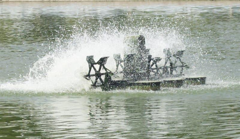 De turbine van het water royalty-vrije stock fotografie