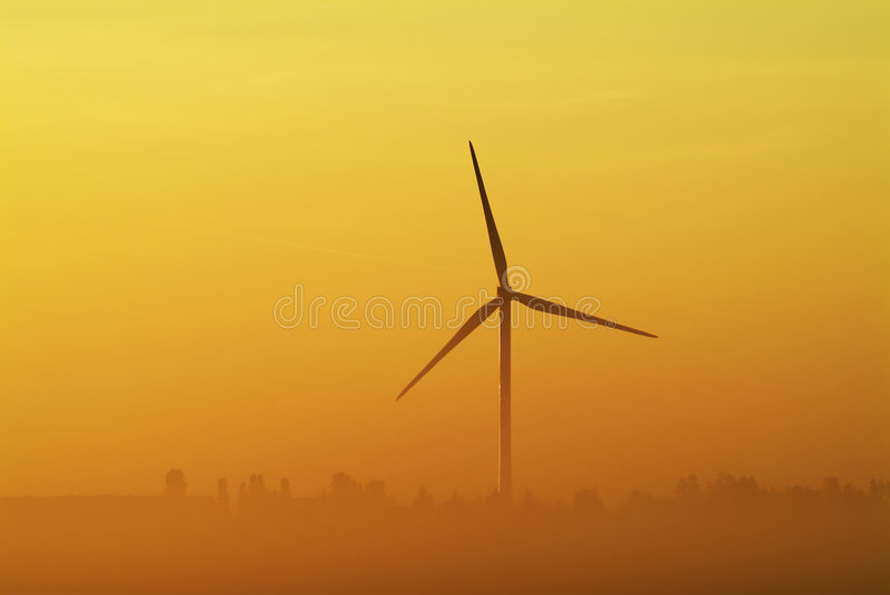 De turbine van Whitemoor stock fotografie