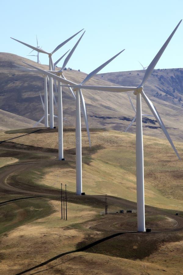De turbines van de wind. royalty-vrije stock fotografie
