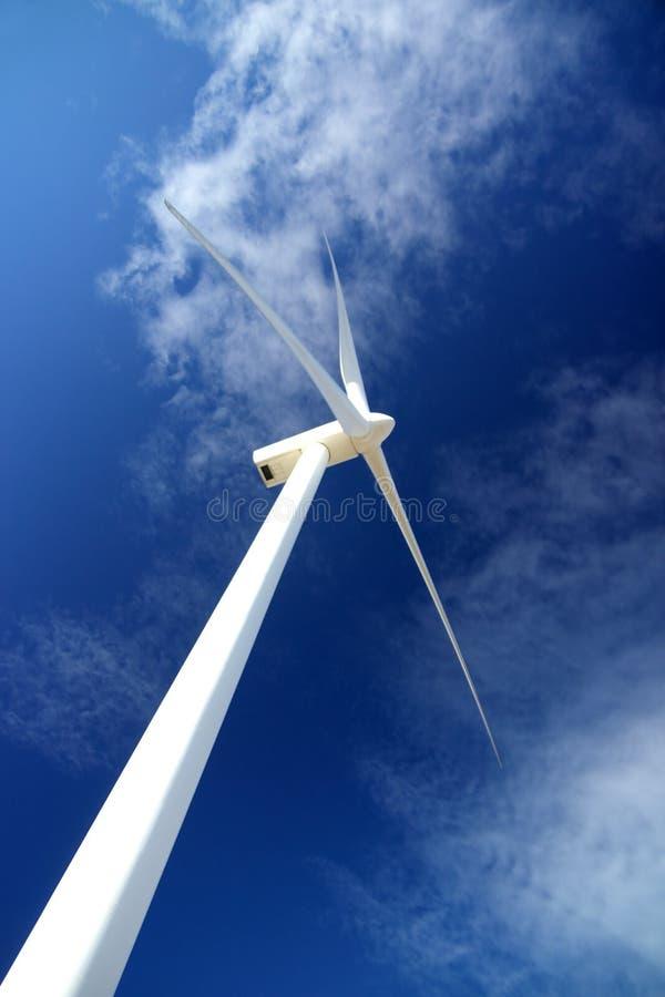 De turbogenerator van de wind royalty-vrije stock afbeeldingen