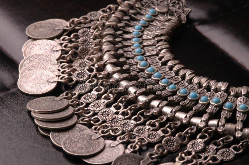 De Turkooise Juwelen van de ottomane stock afbeeldingen
