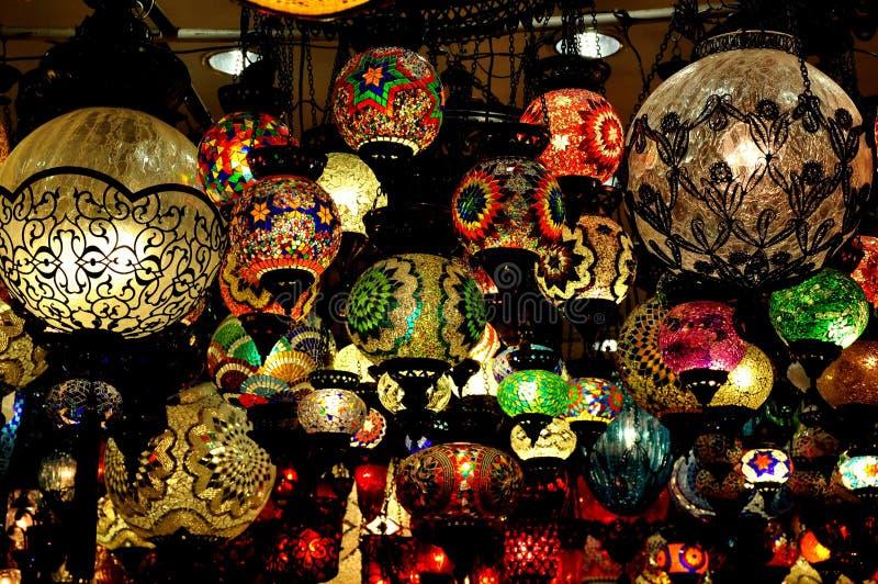 De Turkse Winkel van de Lamp royalty-vrije stock fotografie