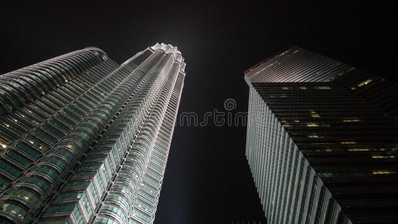 De TweelingTorens Kuala Lumpur van Petronas royalty-vrije stock foto