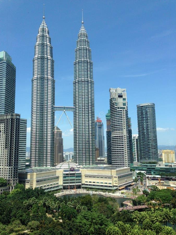 De TweelingTorens van Petronas stock fotografie