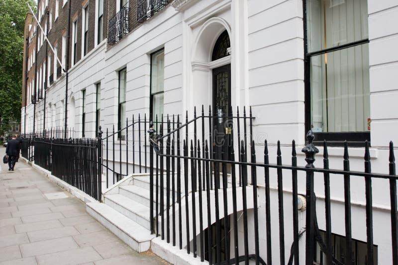 De typische straat van Londen stock afbeelding