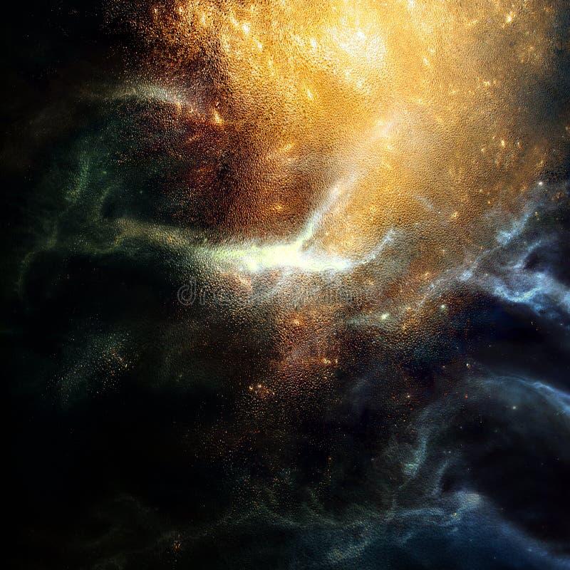 De Uitbarsting van de vlam vector illustratie