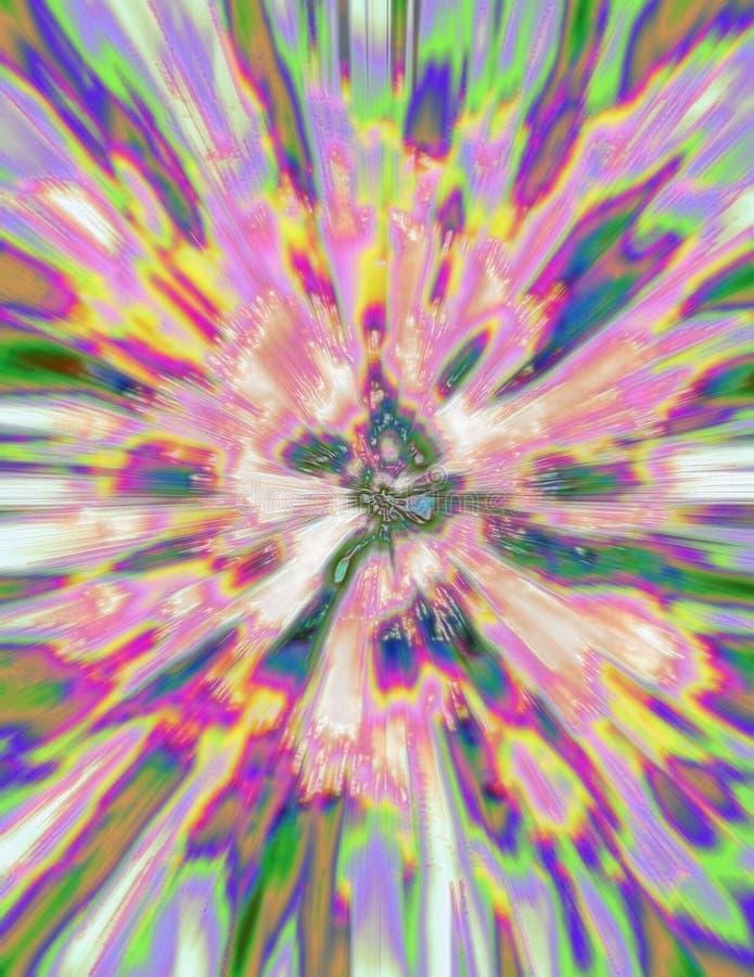 De Uitbarsting van Phycedelic vector illustratie