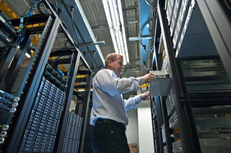 De Uitbreiding van de server stock afbeeldingen