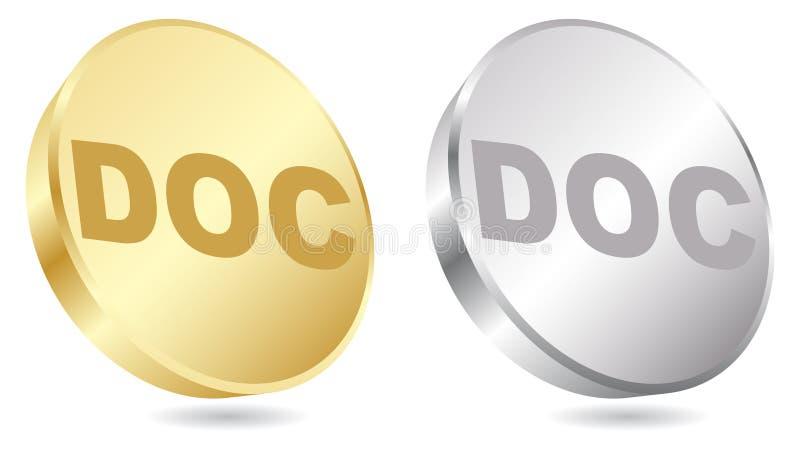 De uitbreiding van doc. vector illustratie