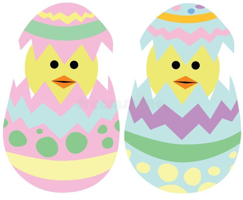 De uitbroedende Kuikens van Pasen