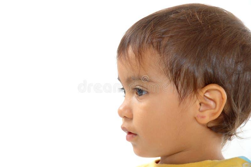 De Uitdrukking van het kind royalty-vrije stock foto