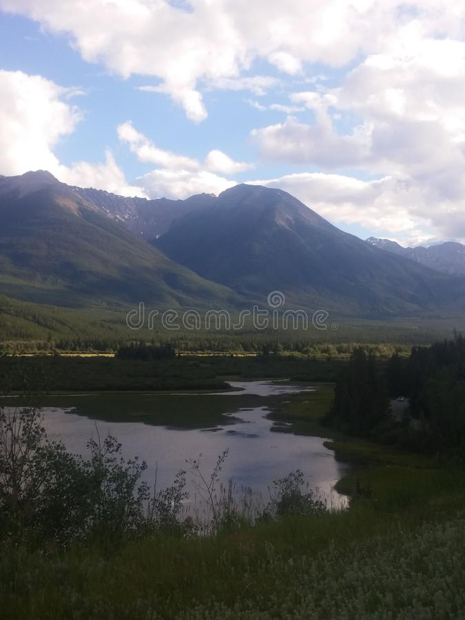 De uitlopers Alberta royalty-vrije stock afbeeldingen