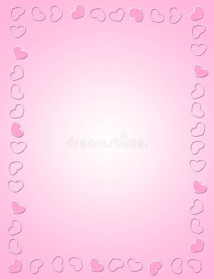 De uitnodigingsachtergrond/frame van het huwelijk stock illustratie