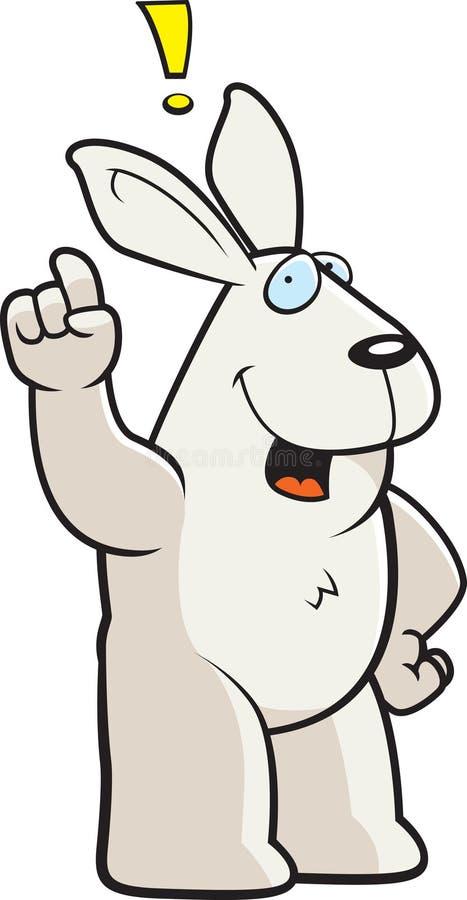De Uitroep van het konijn vector illustratie