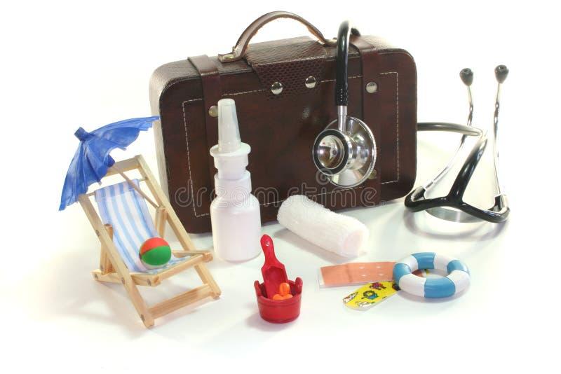 De uitrusting van de eerste hulp stock foto's