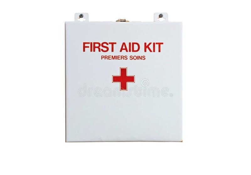 De Uitrusting van de eerste hulp stock afbeelding