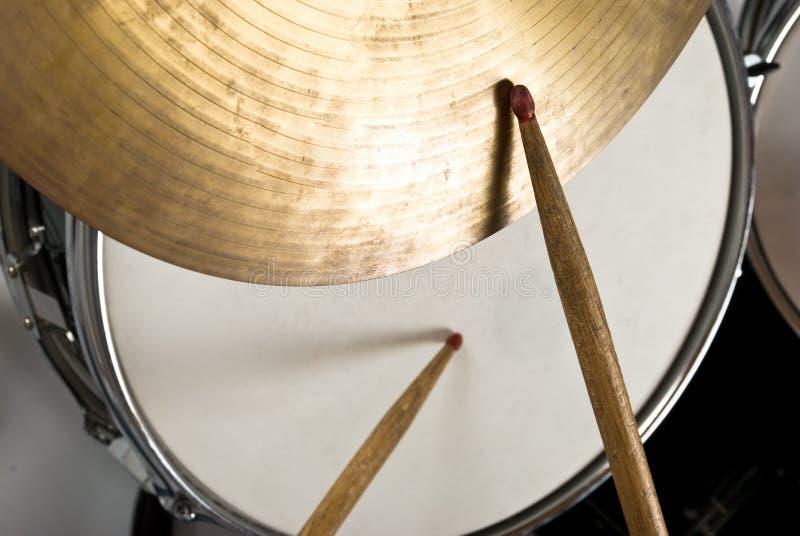 De uitrusting van de trommel royalty-vrije stock foto's
