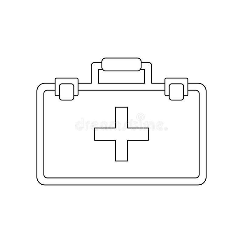de uitrustingspictogram van de kleureneerste hulp Element van bouwhulpmiddelen voor mobiel concept en webtoepassingenpictogram Ov vector illustratie
