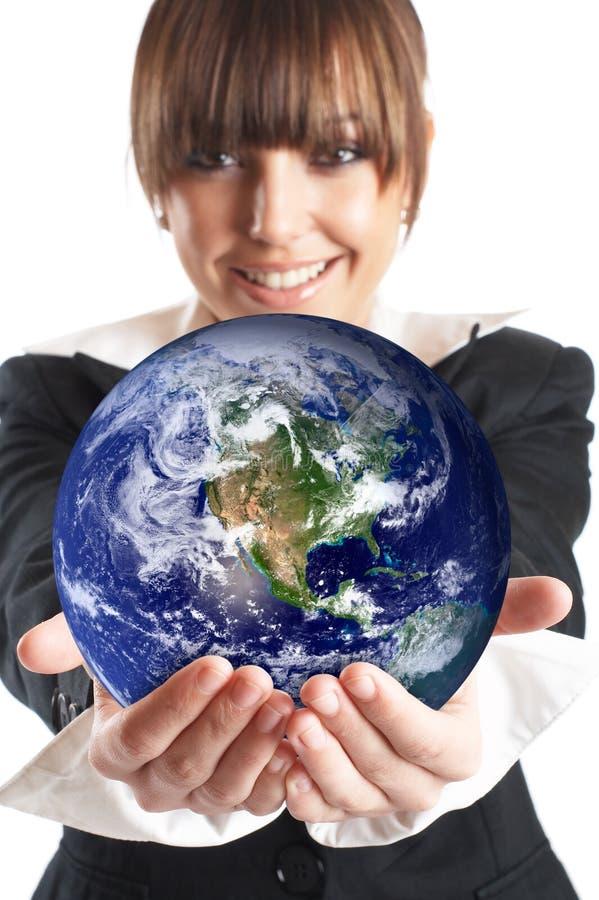 De uitspraak van de Wereld stock foto