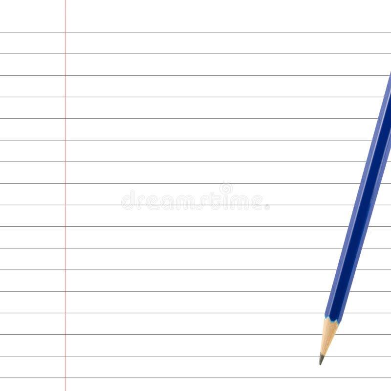 De Uitstekende achtergrond van het potloodboek royalty-vrije stock afbeeldingen