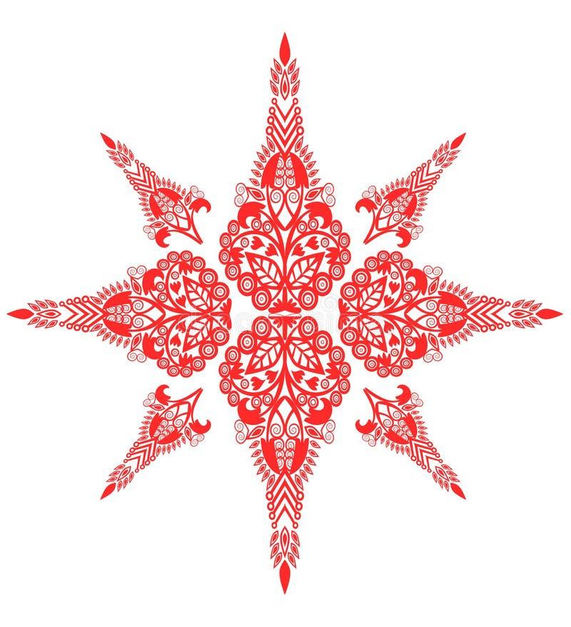 De uitstekende achtergrond van het Sterpatroon vector illustratie
