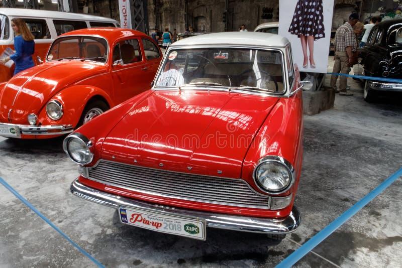 De uitstekende auto van Lloyd Arabella - Voorraadbeeld royalty-vrije stock afbeelding