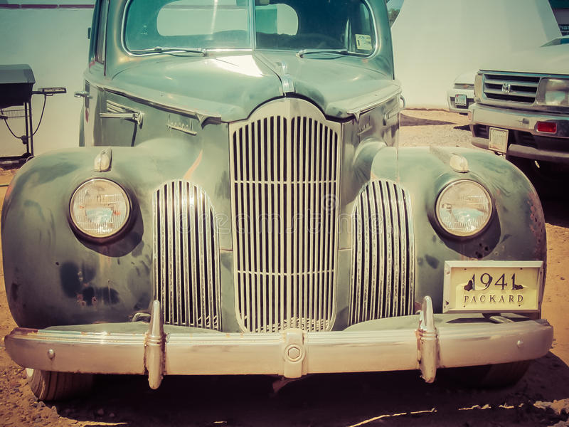 1941 de Uitstekende Auto van Packard royalty-vrije stock fotografie