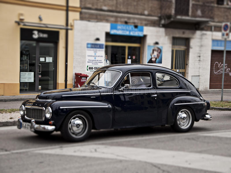 De uitstekende auto Volvo van Millemiglia royalty-vrije stock foto