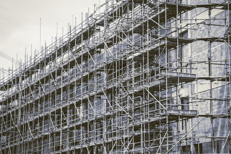 De uitstekende bouw van toonunderconstruction royalty-vrije stock foto's