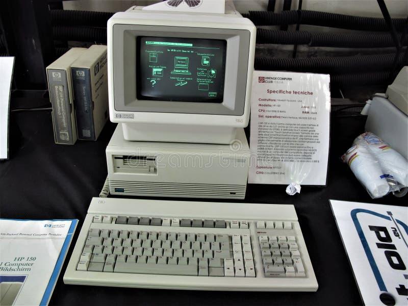 De uitstekende computer van Rome stock fotografie