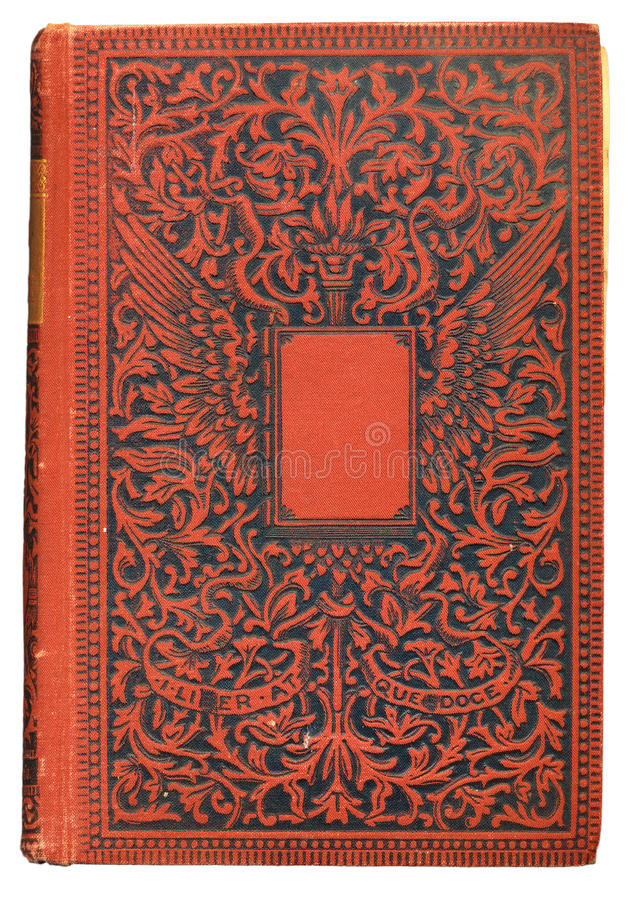 De uitstekende Dekking van het Boek stock afbeelding