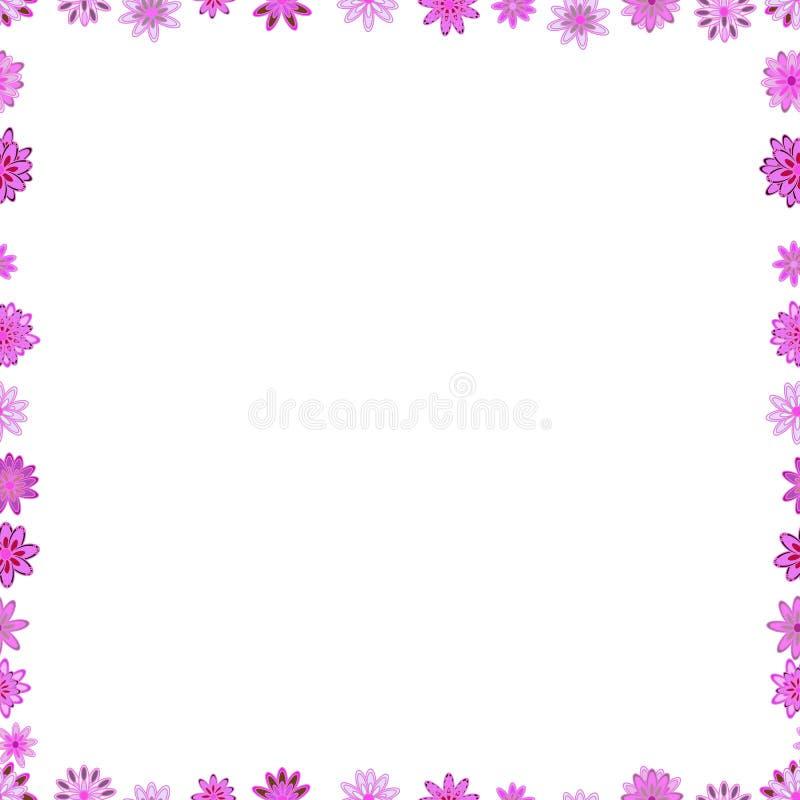 De uitstekende etiketten van de de omlijstingkrabbel van de krabbelschets royalty-vrije illustratie