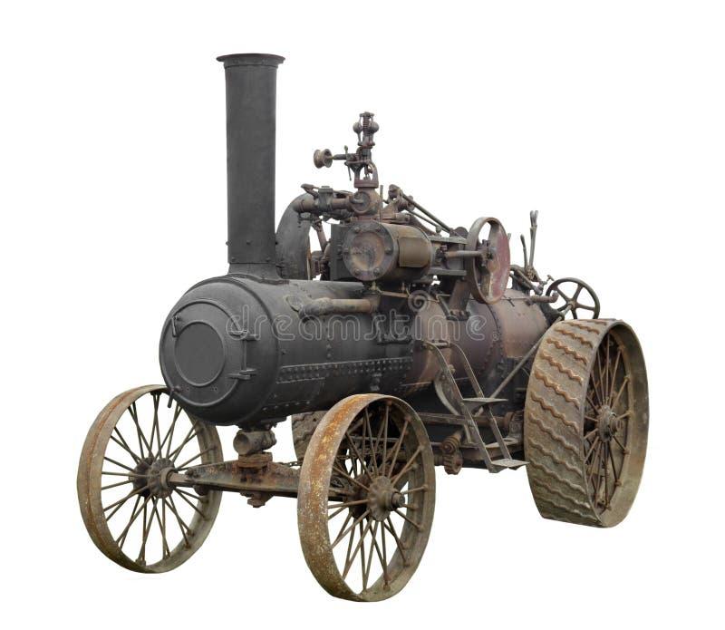De uitstekende geïsoleerde tractor van de stoommotor