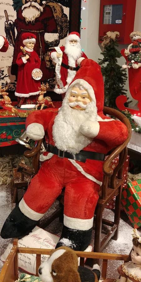 De uitstekende Kerstman stock foto's