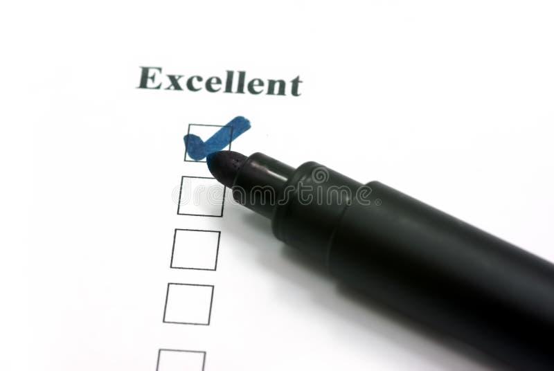 De uitstekende klantendienst stock illustratie