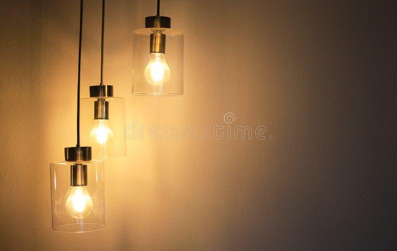 De uitstekende lamp van de luxe binnenlandse verlichting voor ruimtedecor royalty-vrije stock afbeelding