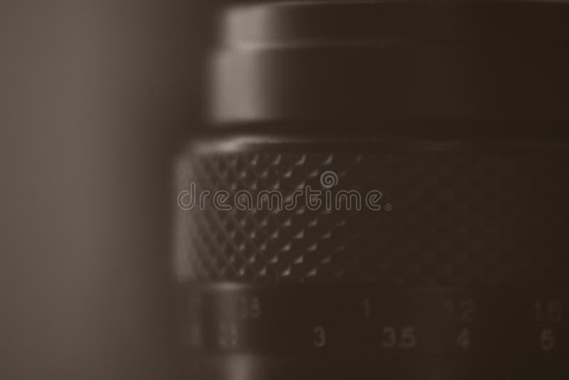 De uitstekende retro Lens van de analogecamera royalty-vrije stock afbeelding
