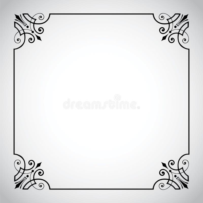 De uitstekende SierReeks van het Frame royalty-vrije illustratie