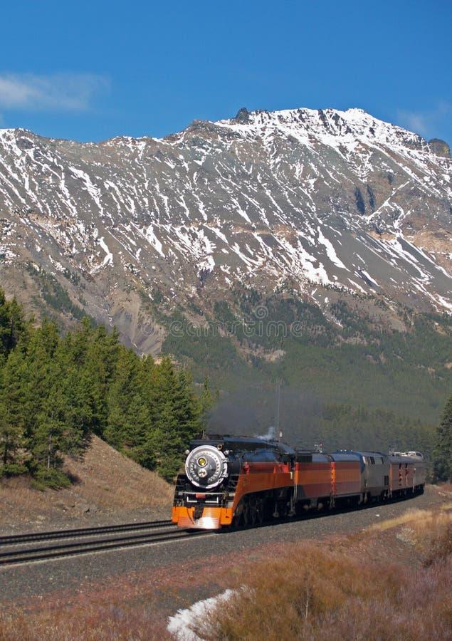 De uitstekende Trein van de Passagier stock fotografie