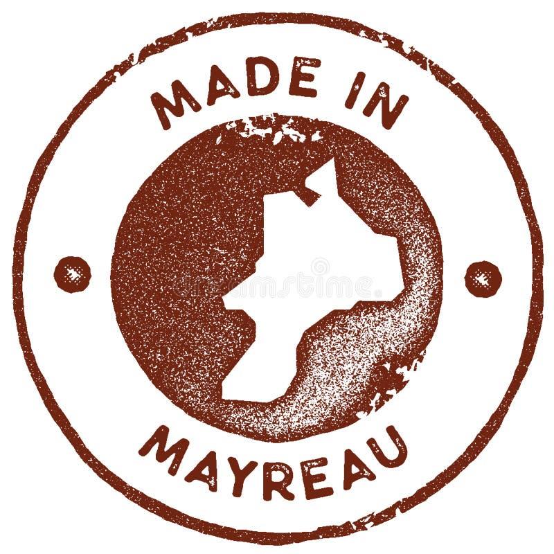 De uitstekende zegel van de Mayreaukaart vector illustratie