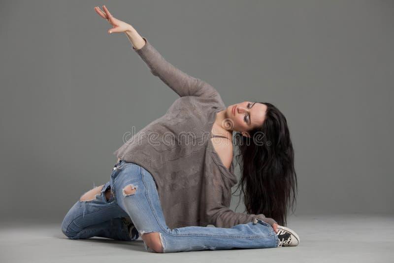De uitvoerder van de dans royalty-vrije stock afbeelding
