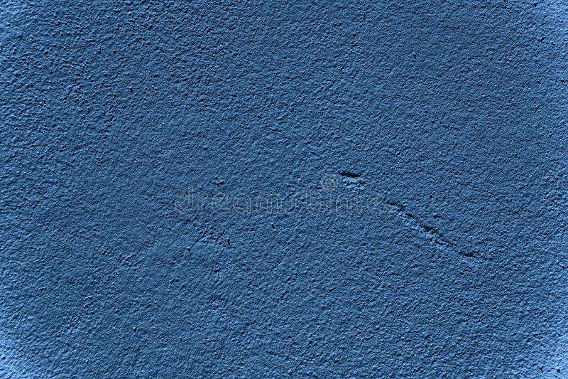 De ultra blauwe Concrete textuur van de cementmuur, patroon voor dekking of achtergrond royalty-vrije stock fotografie