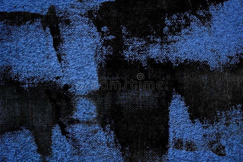 De ultra blauwe textuur van het grunge Concrete cement, steenoppervlakte, rotsachtergrond royalty-vrije stock foto's