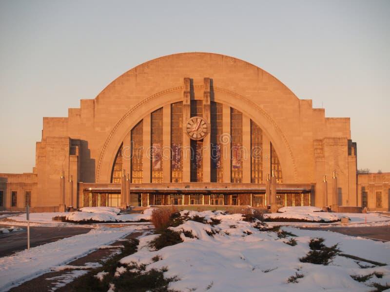 De Unie van Cincinnati Terminal royalty-vrije stock afbeeldingen