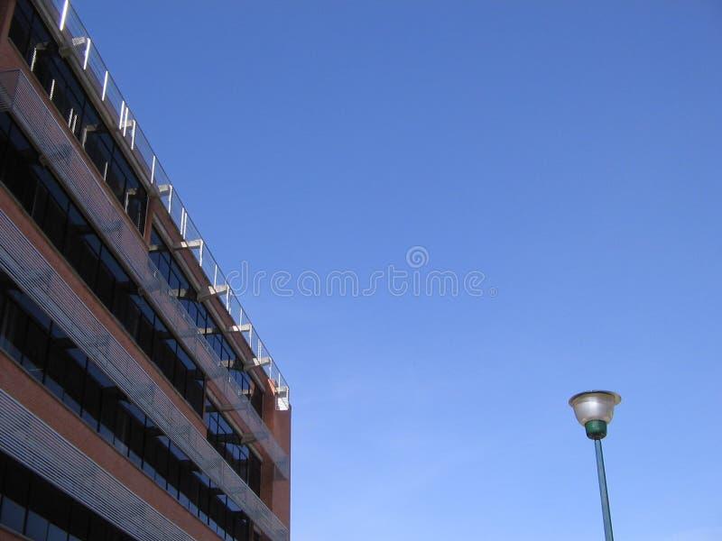 De universitaire bouw, Puerto Ordaz, Venezuela stock foto
