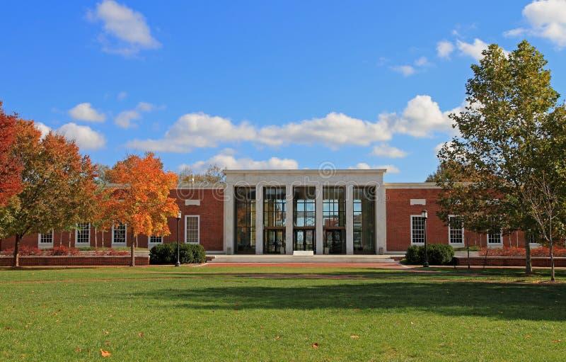 De Universitaire Campus van Hopkins van Johns stock afbeeldingen