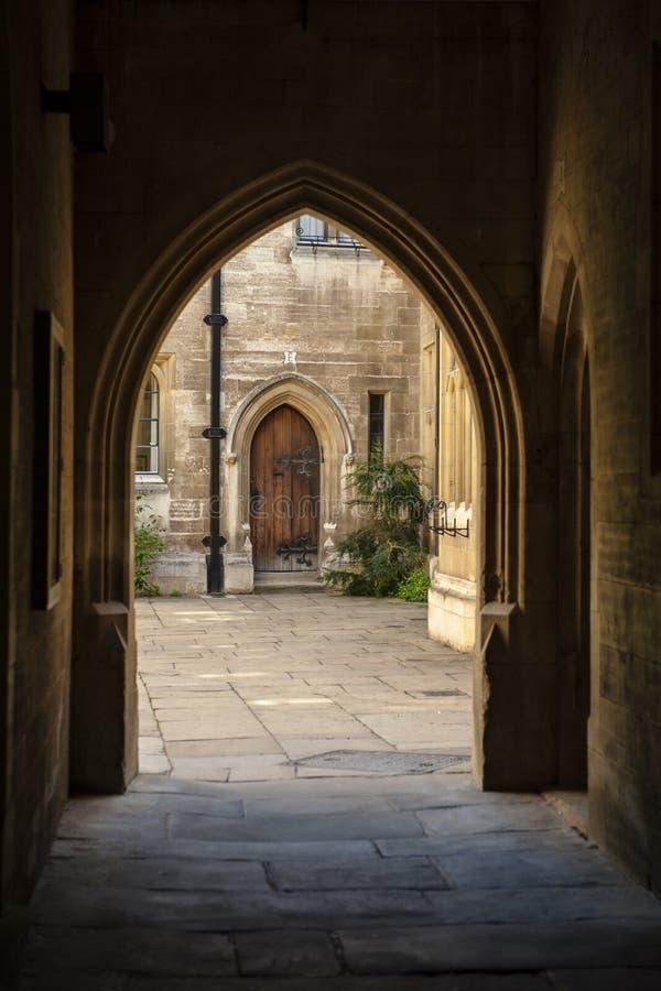 De Universitaire Stad van Cambridge stock afbeeldingen