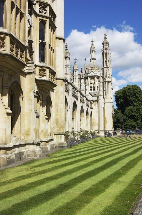 De Universiteit Cambridge van koningen royalty-vrije stock fotografie