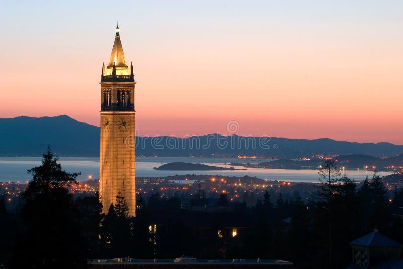 De Universiteit van Berkeley stock foto