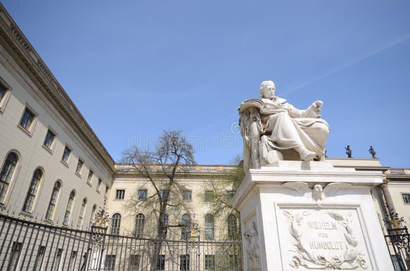 De universiteit van Berlijn humboldt royalty-vrije stock foto's